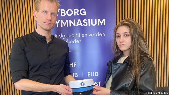 Dänemark Schülerin Aya Abo Daher