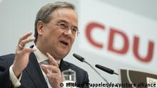 Deutschland, Berlin | Armin Laschet, CDU-Präsidiumssitzung