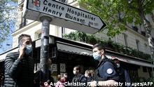Schießerei vor Krankenhaus in Paris