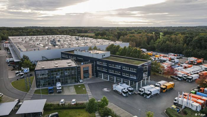 "Proizodni pogon firme ""Faun"" nalazi se u Osterholc-Šarmbeku kod Bremena"