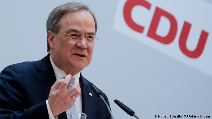 Deutschland Berlin | Armin Laschet CDU Kanzlerkandidat