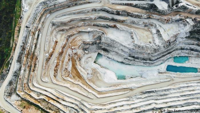 Rudnik u Australiji, dolina Barosa - uništena