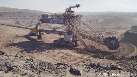 Critical raw materials mine