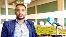Dan Yirga, General Director, Ethiopian Human Rights Council. Photo: Alemnew Mekonnen/DW 12.4.2021
