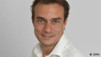 Yann de Carné, Präsident des französischen Branchenverbands GMH, der 80 Prozent der Unternehmen repräsentiert, die Restaurierungsarbeiten an öffentlichen Monumenten durchführen