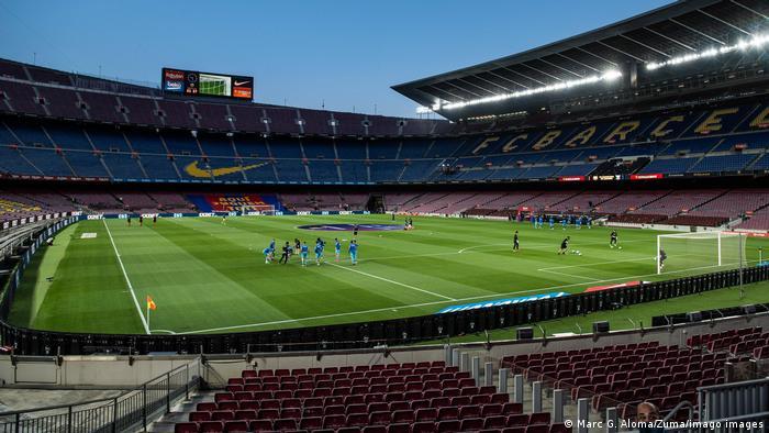 Spanien Barcelona Stadion Camp Nou