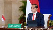 President Joko Widodo Indonesian President Joko Widodo gives speech on the opening Hannover Messe 2021, Monday (04/12). -- Rizki Akbar Putra