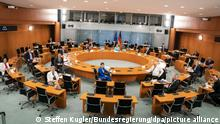 Deutschland Kabinettssitzung
