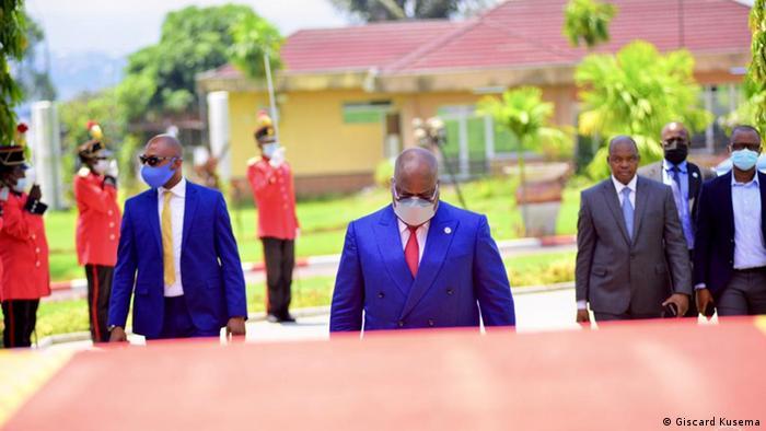 DRC-Präsident Félix Tshisekedi