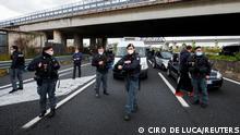 Italien Protest gegen Corona-Maßnahmen
