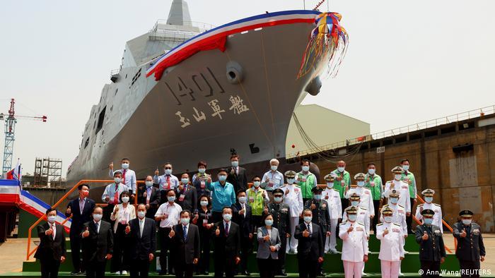 Taiwan Vorstellung Kriegsschiff Yu Shan