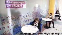 Russland Moskau | Coronaimpfung mit Sputnik V