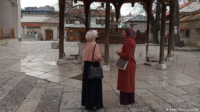 Dvorište Gazi Husrev begove džamiej u Sarajevu