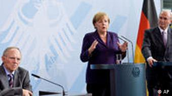 Treffen Merkel und Expertengruppe Neue Finanzarchitektur