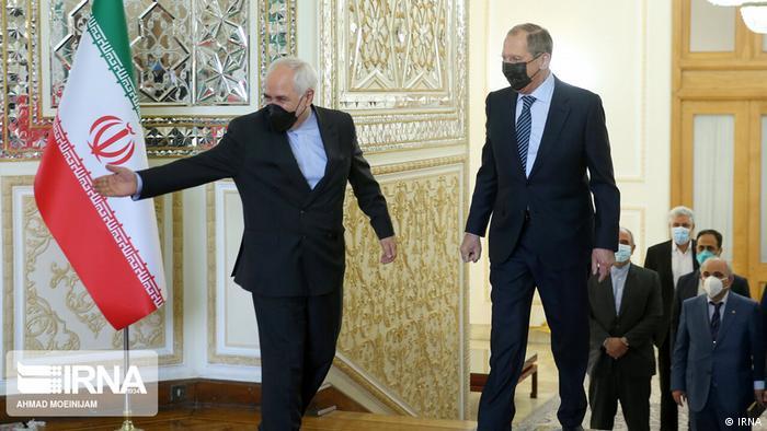 Lavrov i Zarif (d.) u Teheranu, 13.4.2021.
