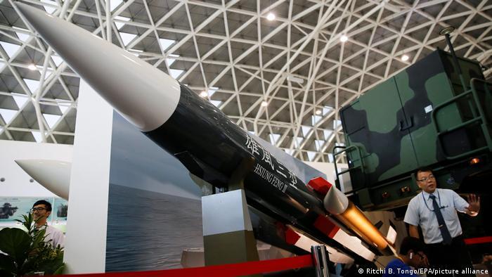 Taiwan   Hsiung Feng III Rakete