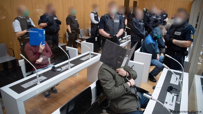 Deutschland Stuttgart | Prozess gegen Gruppe S.