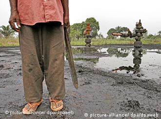 Le Delta du Niger, toujours les pieds dans la pollution
