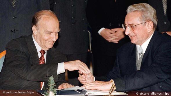 Predsjednici Izetbegović i Tuđman