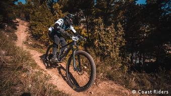 Biciklist na Jadranu