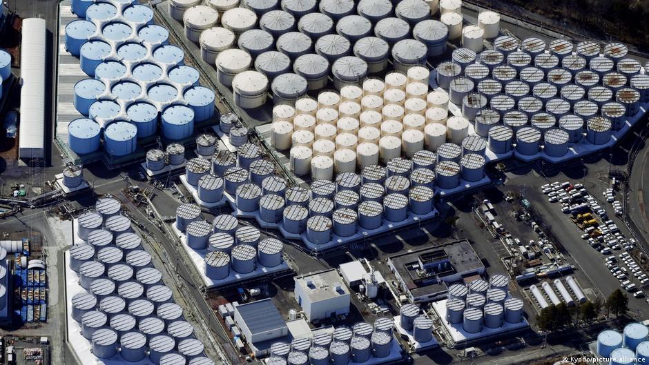 福島第一核電站現已累積約124萬噸核廢水,裝於儲藏罐中