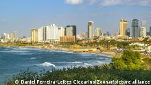 Israel, Tel Aviv | Strand von Tel Aviv, Skyline