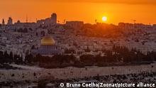 03.02.21 *** A picture of Temple Mount at sunset (Jerusalem).