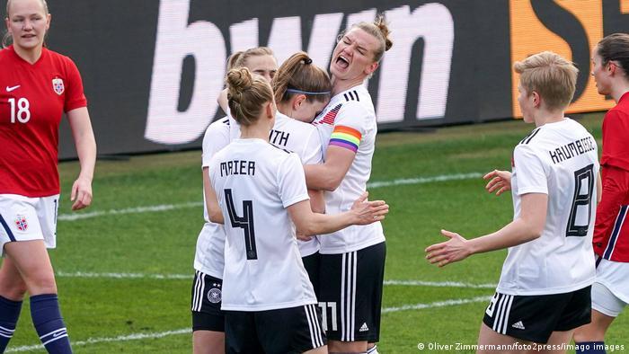 Frauenfussball Deutschland - Norwegen