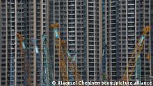 Hongkong Baustelle Tiu Keng