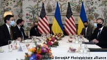 Belgium US Ukraine Dmytro Kuleba und Antony Blinken