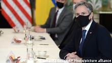 Belgien USA Ukraine Dmytro Kuleba und Antony Blinken