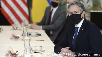 Nous avons atteint les objectifs que nous nous étions fixés, a assuré mercredi le chef de la diplomatie américaine Antony Blinken, à Bruxelles.