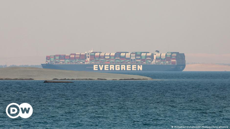 Egypt impounds Ever Given over Suez compensation claim