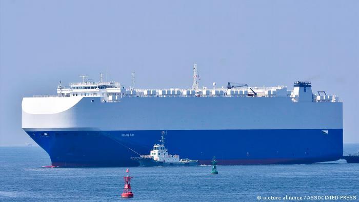کشتی اسرائیلی هلیوس ری در ماه فوریه هدف حمله قرار گرفته بود- عکس از آرشیو