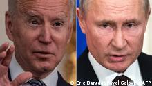 USA Russland Kombo Joe Biden und Putin