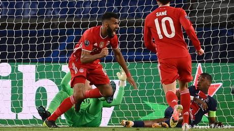 Champions League   Viertelfinale Rückspiel - Paris St. Germain gegen Bayern München