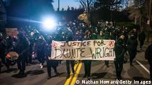 Protest nach dem Tod von Daunte Wright