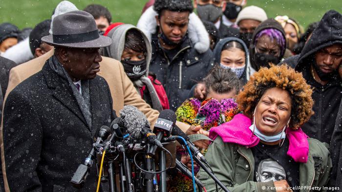 USA I Proteste nach dem Tod an Daunte Wright