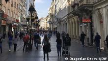 Serbien I Coronavirus in Belgrad