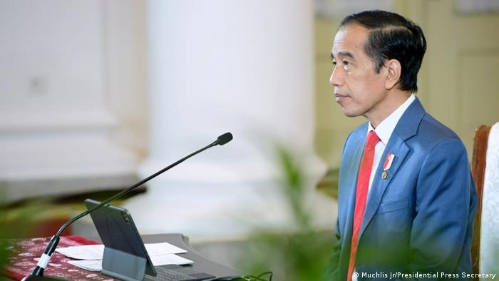 Di depan Merkel, Jokowi pamer capaian pengendalian pandemi COVID-19 di tanah air