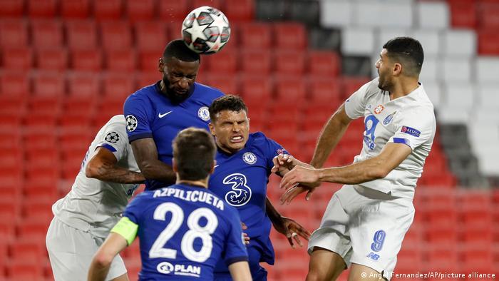 Fußball Champions League Chelsea v Porto | in Sevilla