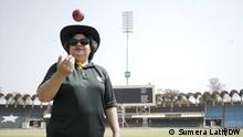 Pakistan Lahore | Humaira Farah erste weibliche Kricket-Schiedsrichterin