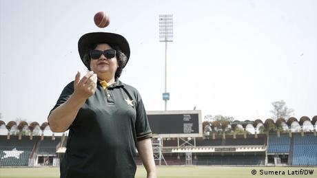 Humaira Farah, Pakistan's first female cricket umpire