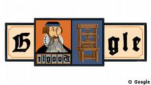 Google Doodle Johannes Gutenberg