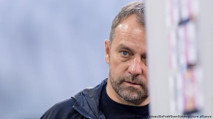 Fußball FC Bayern München Trainer Hans Dieter Flick