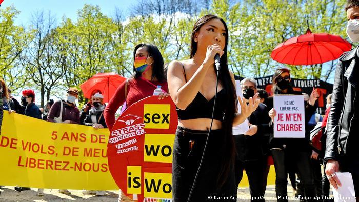 Prosvjed u Parizu za prava prostitutki