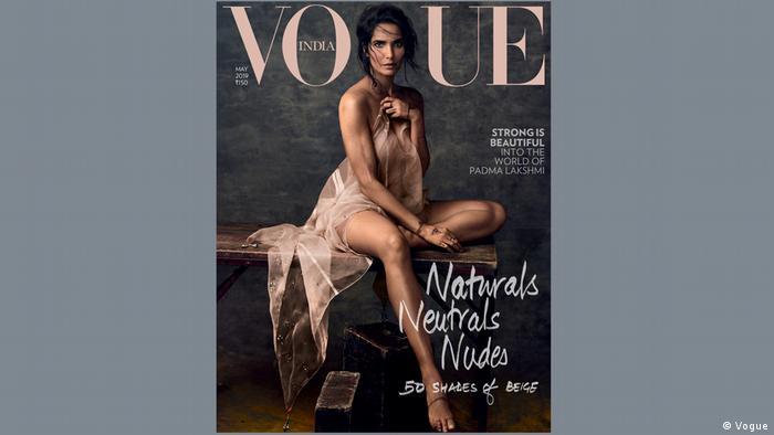 Padma Lakshmi on the Vogue Cover