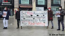 Köln, Mahnwache für Yüksel Weßling