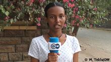 GOM Reporterin Lidya Meles