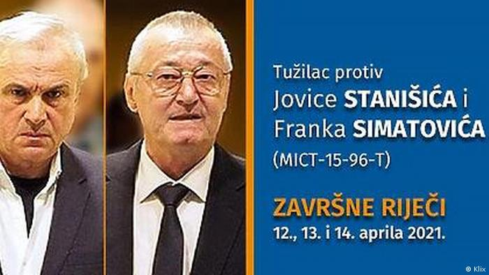 Jovica Stanisic und Franko Simatovic